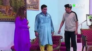 Nasir Chinyoti and Zafri Khan  Aashiq China Made  New Pakistani Stage Drama Full Comedy Clip
