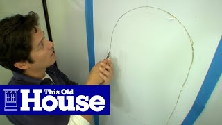How to Install a Wall Niche - This Old House
