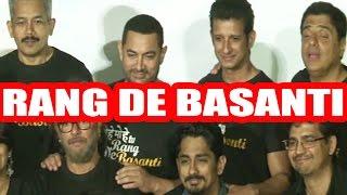 Aamir Khan and Rang De Basanti Team Reunion To Commemorate 10 Years of Film   Full Event