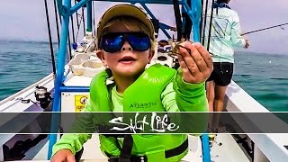 4-Year-Old Fishing for Tuna | Kellan Hunt