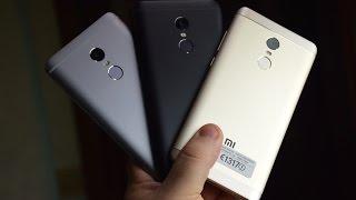 Unboxing Xiaomi Redmi Note 4 Matte Black e vs Gold e Gray ITA
