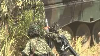 DEMONSTRASI PUR TNI AD TA 2015 Baturaja