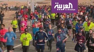صباح العربية   3 آلاف يركضون للترويج لآثار مصر