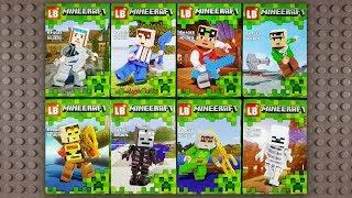 LEGO Minecraft Minifigures (knock-off) LB379