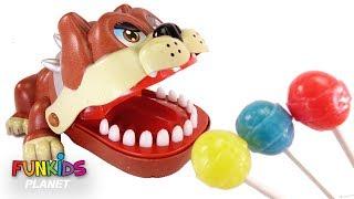 Paw Patrol Lollipops Dentists and Bulldog & Alligator Toy