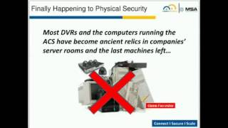 Why Cloud is the Future of Physical Security