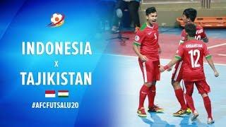 Indonesia (5) VS (3) Tajikistan - AFC Futsal Championship 2017 U20