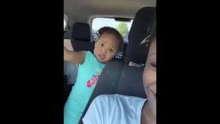 Beautiful Little Girl Str8 Lit By Young Thug Power (Warning: Cursing/Gun Talk)
