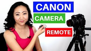 Canon Camera Remote Control RC-6 Review + Demonstration | JEN TALKS FOREVER