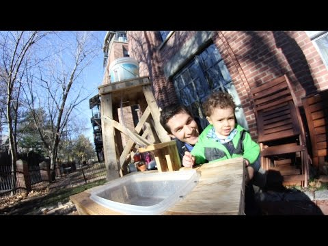 Daddy Engineer Outdoor Play Sink Design Squad