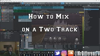 How to Mix Vocals on a Two Track Mp3 or Wav File