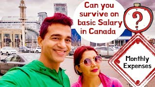 Can you survive in basic salary in Canada? Canada Couple Expenses