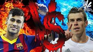 Neymar Jr VS Gareth Bale | Batalha de Rimas