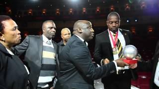 Itumeleng Khune Crying at  ABSA PSL Awards by Lefty shivambu
