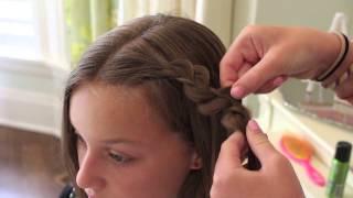 How to create a rick rack braid | lowry girl hairstyles