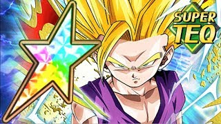 NEW 100% TEQ SSJ2 GOHAN (YOUTH) SHOWCASE Full Power Clash Dragon Ball Z Dokkan Battle
