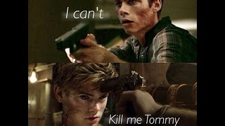 Maze Runner - Goodbye Newt - Chapter 55 - The Death Cure SPOILERS