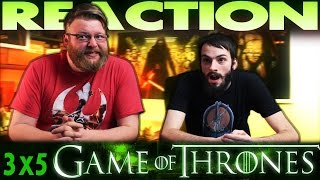 Game of Thrones 3x5 REACTION!!