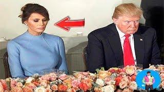 هذا الفيديو يثبت أن ميلانيا تكره زوجها دونالد ترامب رئيس أمريكا !!