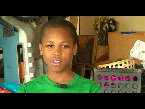 Young Genius: 10-Year-Old Boy Invents A Device To Prevent Babies From Dying In Hot Cars!
