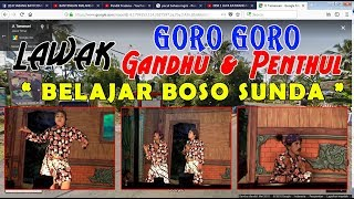 Boso Sundo Lucu, Gandu & Pentul Janger TIARA NUSA DEWA Yosomulyo live SARONGAN