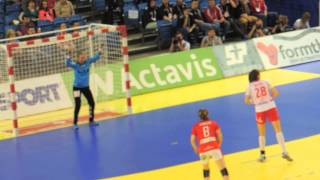 EHF Euro 2014-Denmark-Poland 28-19 Alina Wojtas vs Sandra Toft face to face-Poland score-Fonix Hall