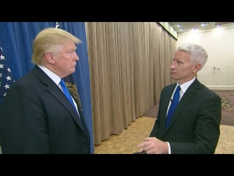 Donald Trump s interview with Anderson Cooper Part 1