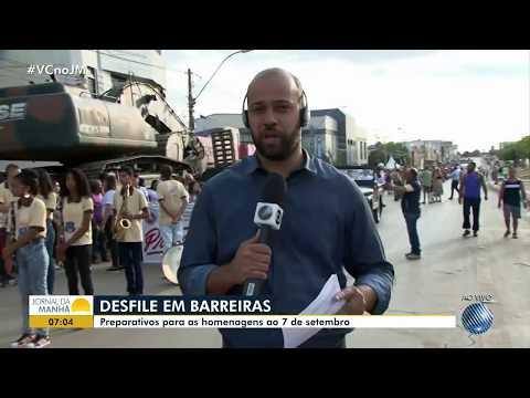 Jornal da Manhã faz giro nas homenagens ao Sete de Setembro na Bahia