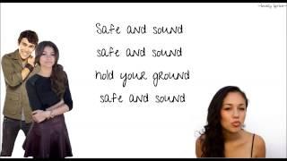 Safe and Sound - Capital Cities (ft. Zendaya, Kina Grannis, Max Schneider) - lyrics!