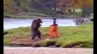 BEAR VS MAN FIGHT - Real or fake?