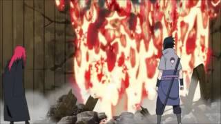 Sasuke vs 5 Kages