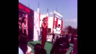 Priyanka Chopra in my institute SVN for promotion of marycom moovie
