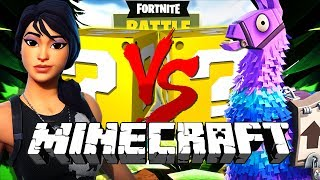 Minecraft: FORTNITE LUCKY BLOCK CHALLENGE | BATTLE ROYALE!!