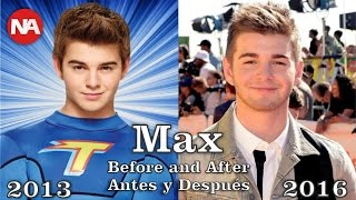 The Thundermans Antes y Después 2016 / The Thundermans Before and After 2016