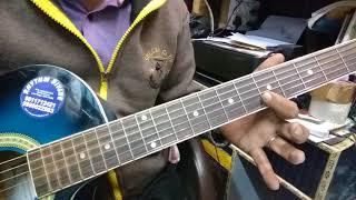 Aye Mere Humsafar ( Baazigar) Full Guitar Tab Lesson.