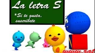 Las vocales A E I O U y la consonante S - Canta Cuento Infantil Educativo- La Pelota Loca
