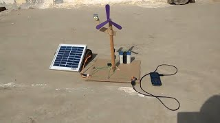 How to Make Emergency Fan, Charger, and Light using Solar Panel at Home