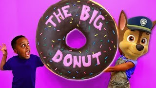 Bad Kids Shiloh And Shasha IN JAIL AGAIN! GIANT DONUT Challenge - Onyx Kids