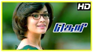 Theri movie   Amy Jackson Scenes   Vijay   Baby Nainika   Rajendran