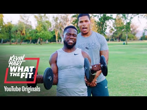 Bulk up With the Boss Kevin Hart What The Fit Laugh Out Loud Network