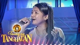 "Tawag Ng Tanghalan: Janine Pialan - ""If Only"""