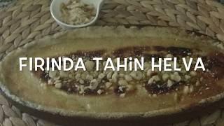 Fırında Sıcak Tahin Helvası(Balıkçı Helvası) Nasıl Yapılır ?| Evde Balık Sonrası O Sıcak Tahin Helva