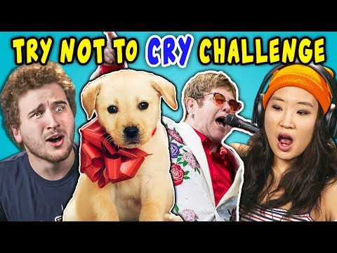 Xxx Mp4 Adults React To Try Not To Cry Challenge 3gp Sex