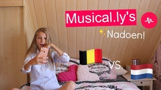 Musical.ly's Nadoen Van BE & NL Musers | Miek Jacobs