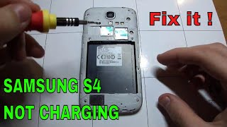 Samsung Galaxy S4 not charging: How to fix it.
