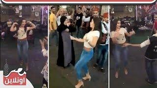 الراقصة جوهرة تشعل شارع المعز