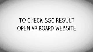 AP SSC Result 2016: Process of Accessing SSC Result 2016