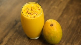 How To Make Kesar Mango Lassi | Mango & Saffron Lassi Recipe | Summer Recipes | Neelam Bajwa