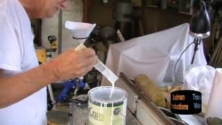 Mixing Paint & Filling a Spray Gun, Small Shop Spray Painting Part V