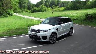 Range Rover Sport SVR SOUND - Accelerations, Revs & Backfiring Sound!